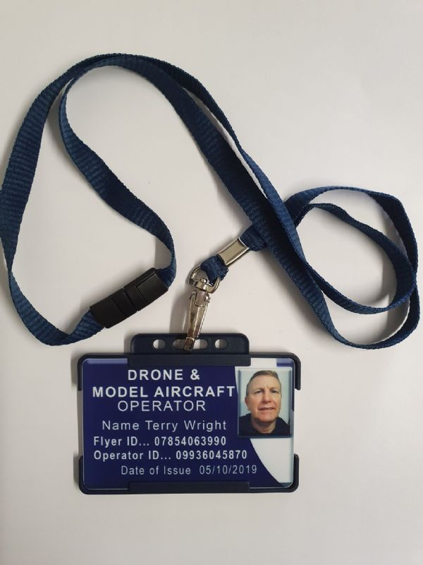 DRONE & MODEL AIRCRAFT OPERATOR ID STICKERS
